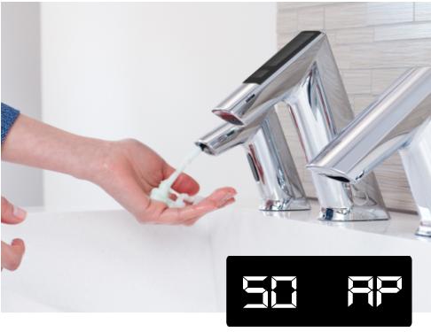 涂皂液 — 第 2 步,BASYS 水龙头