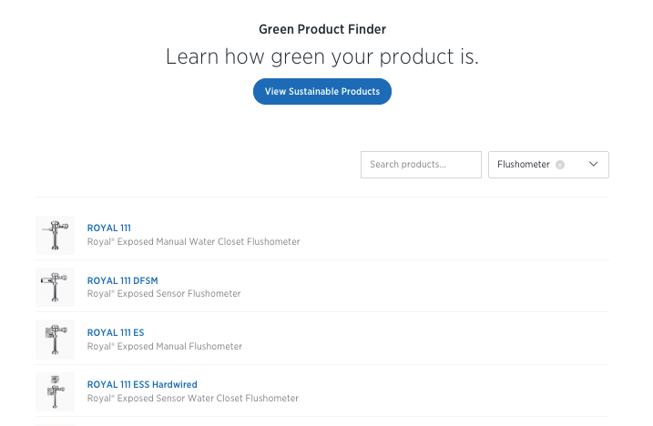 Green Product Finder