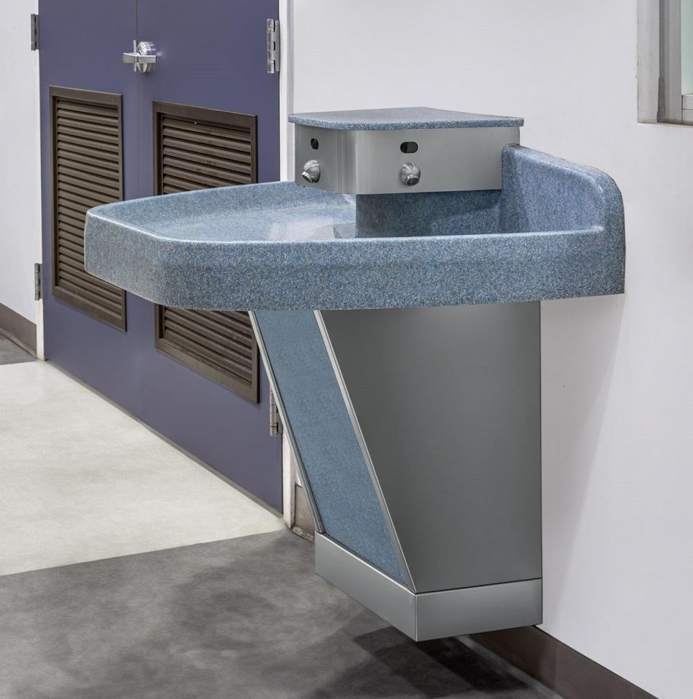 William R Nash_仕龙三人位挂墙式喷泉式水槽