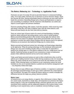 The Battery Balancing Act – Technology vs  Application Needs   Sloan
