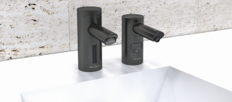 Graphite PVD Finish Restroom Faucet
