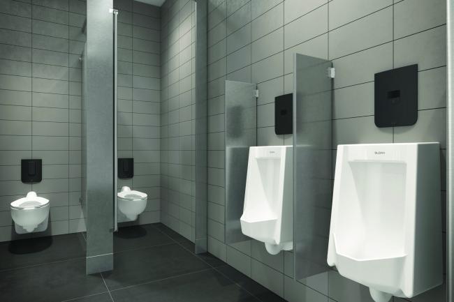 商业卫生间暗装式冲洗阀面板最新技术