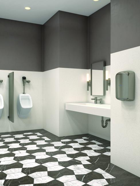 Nickel Brown PVD Special FInish Commercial Public Restroom