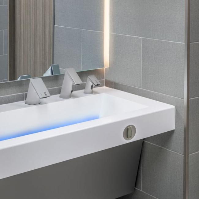 AER-DEC: 免接触式洗手体验