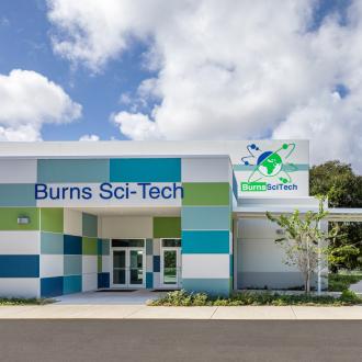 Burns Science and Technology Charter School(伯恩斯科技特许学校)前视图
