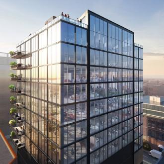 芝加哥 Fulton East 大楼鸟瞰图