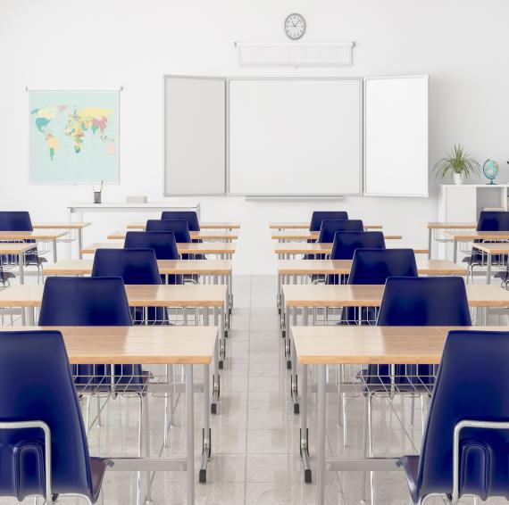 学校教室内景