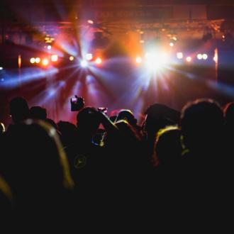 演唱会上的观众视角